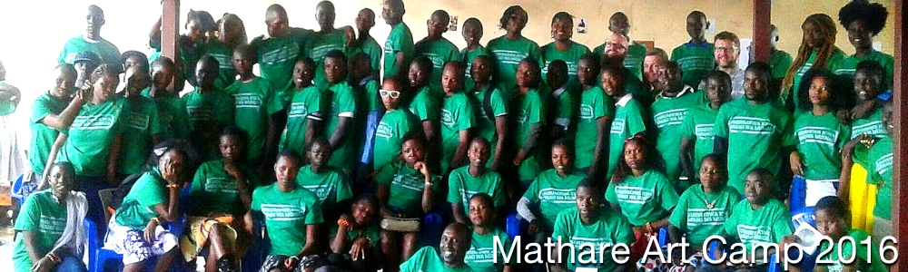 Mathare Art Camp 2016