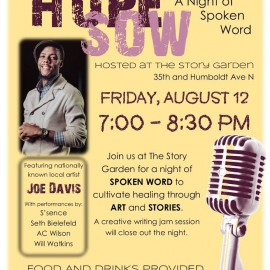 Hope Sow – A Night of Spoken Word