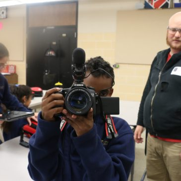 Filmmaking with JD at Columbia Academy